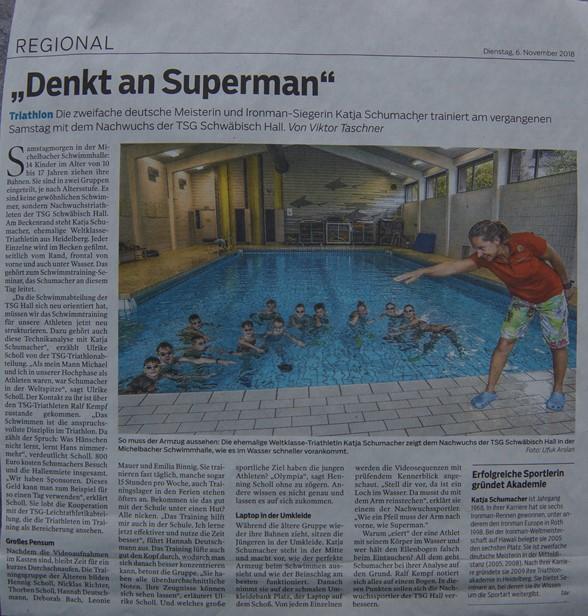 Schwimmanalyse
