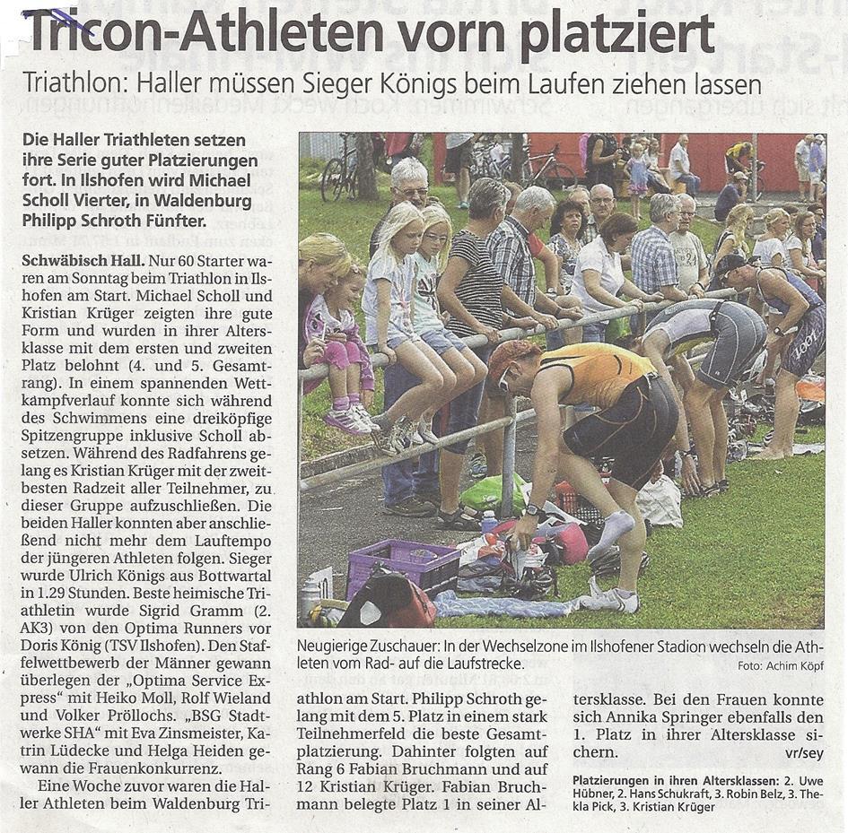 Haller Tagblatt, 02.08.2013